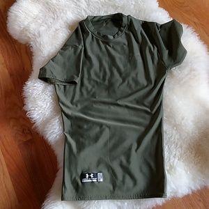 Under Armour Short Sleeve Small Tactical Heat Gear